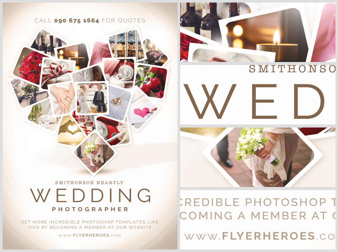 Wedding Flyer Post Wedding Flyer Template Post Wedding Flyer