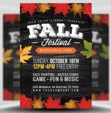 Autumn / Fall Flyer Templates Archives - FlyerHeroes