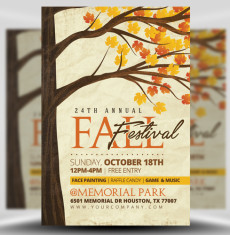 Autumn / Fall Flyer Templates Archives - FlyerHeroes