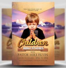 Bible Studies Flyer Template Flyerheroes 1