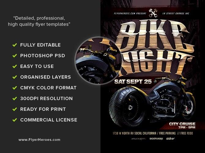 Car And Bike Show Flyer Template TIMEHD - Car and bike show flyer template