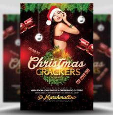 Christmas Cracker Flyer Template 1