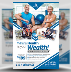 Fitness Flyer Template FH 1