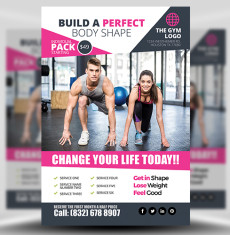 Gym Flyer Template FH 1