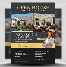 Open House Flyer Template 2 FH 1
