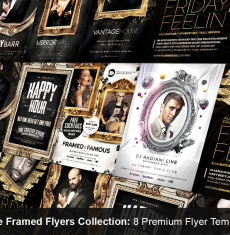 The Framed Flyers Collection 1