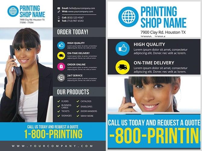 Printing Services Flyer Template V3 Flyerheroes