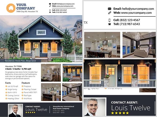 Real Estate Flyer Template v3 - FlyerHeroes