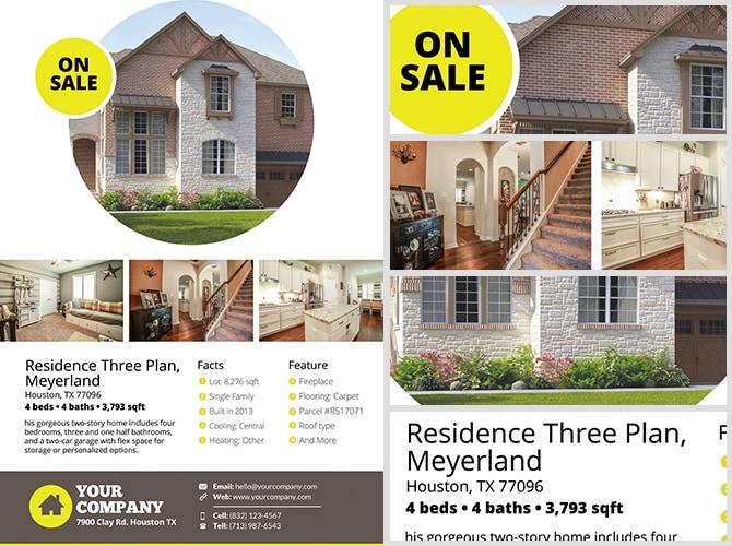 Real Estate Flyer Template v2 - FlyerHeroes
