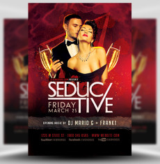 Seductive Flyer Template FH 1