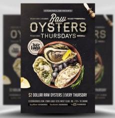 Seafood Thursdays Flyer Template FH 1