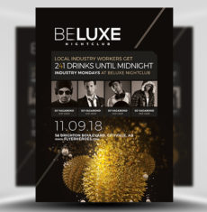 BeLuxe Club Flyer Template FH 1