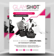 Glamshot Photographer's Flyer Template FH 1
