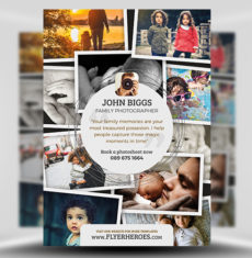 Photography Flyer Template FH 1