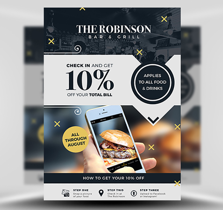 Advertising Flyer Template | Social Media Discount Ad Flyer Template Flyerheroes