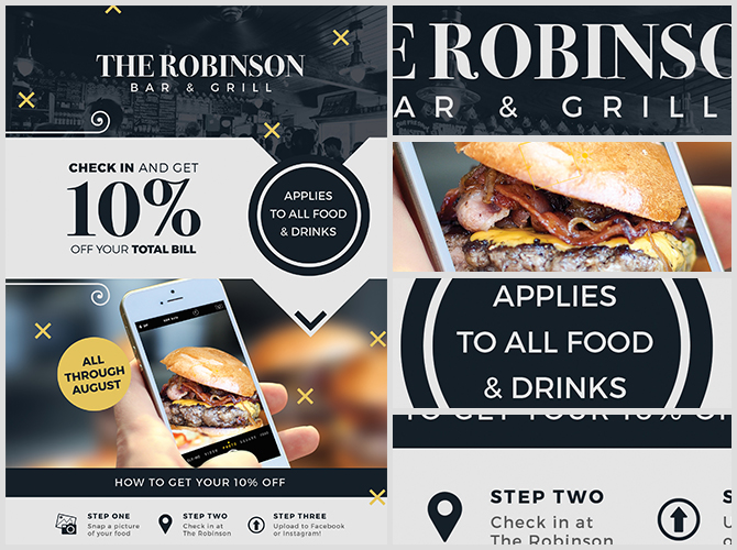 Restaurant Poster Templates  Postermywalldiscount Flyer Template
