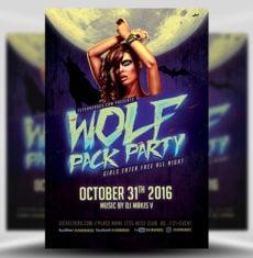 halloween-wolf-pack-flyer-template-1