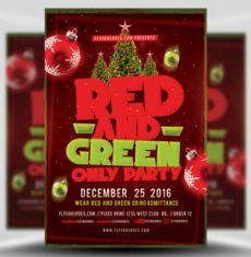 red-and-green-flyer-template-1