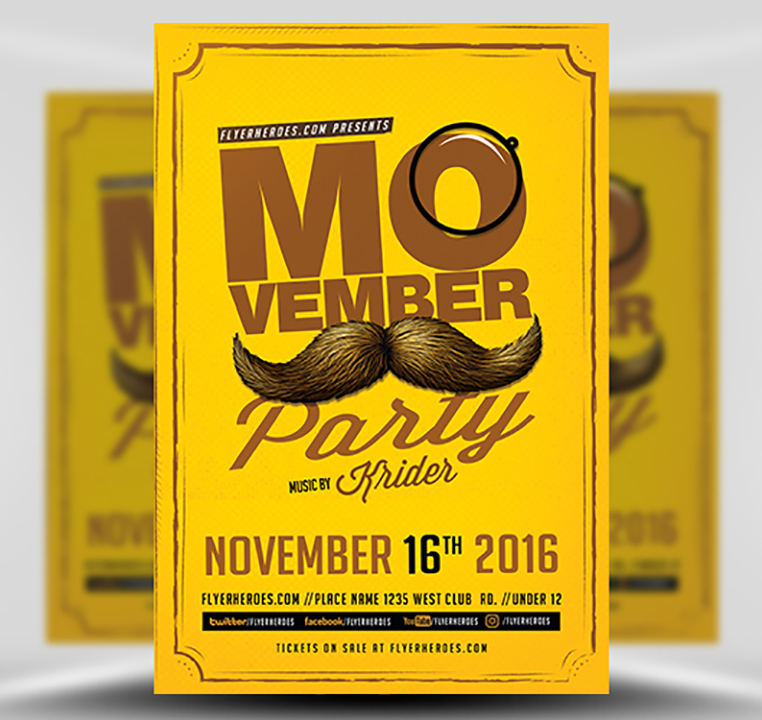 retro-movember-party-flyer-template-1