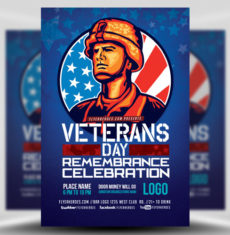 veterans-day-remembrance-celebration-flyer-template-1