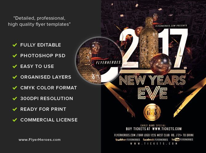 nye party flyer template 2017 v3