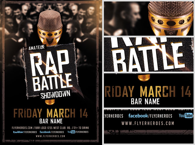 Flyers For Rap Battle Flyer  WwwGooflyersCom
