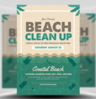 Beach Clean-up Flyer Templa-Graphicriver中文最全的素材分享平台