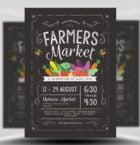 Farmer's Market Flyer Templ-Graphicriver中文最全的素材分享平台
