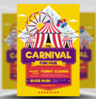Carnival Funfair Event Flye-Graphicriver中文最全的素材分享平台