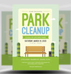 Park Clean-up Flyer Templat-Graphicriver中文最全的素材分享平台