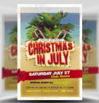Christmas in July Flyer Tem-Graphicriver中文最全的素材分享平台