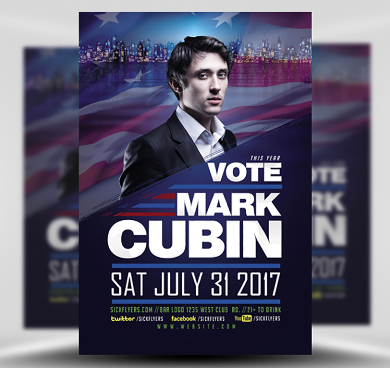Political Flyer Template FlyerHeroes – Political Flyer Template