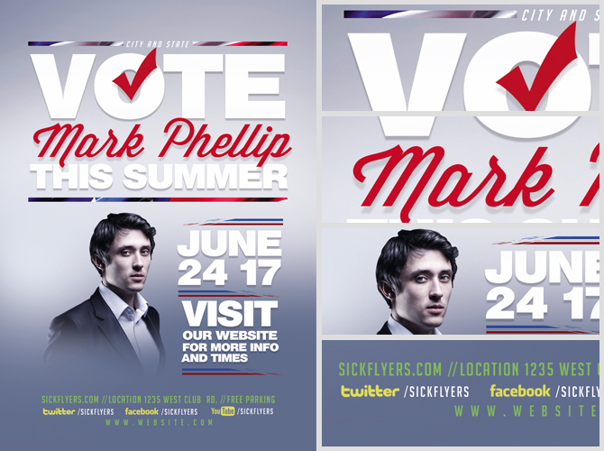 Political Flyer Template V2 FlyerHeroes – Political Flyer Template
