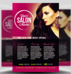 Professional Salon Flyer Te-Graphicriver中文最全的素材分享平台