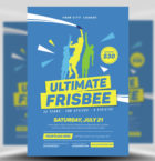 Ultimate Frisbee Flyer Temp-Graphicriver中文最全的素材分享平台