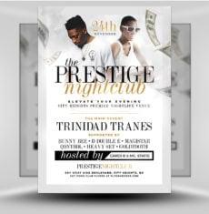 Prestige Nightclub - FlyerHeroes