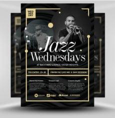 jazz music night - flyerheroes