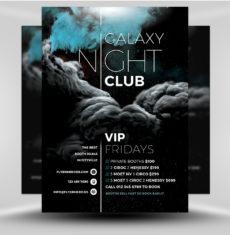 galaxy club 2017 - flyerheroes