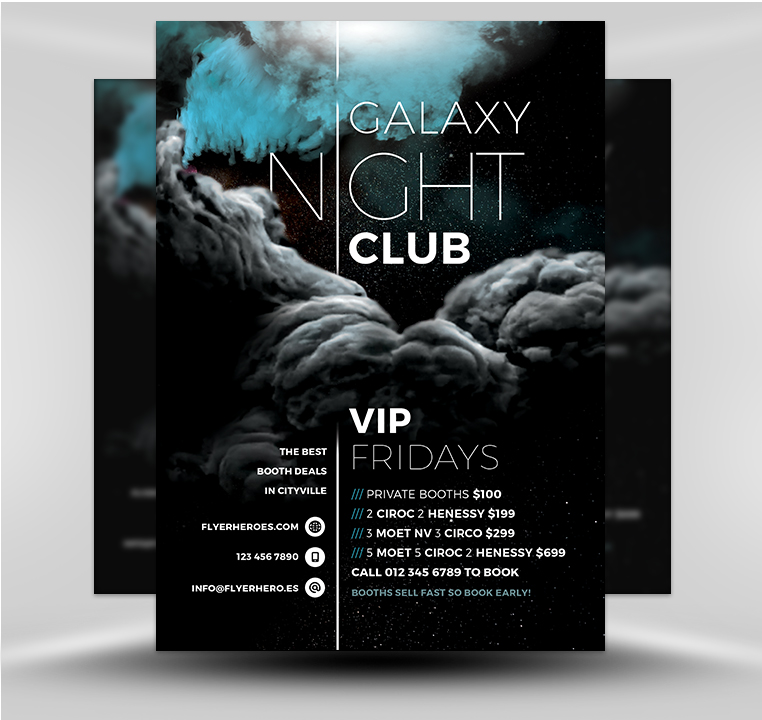 galaxy club 2017 - flyerheroes