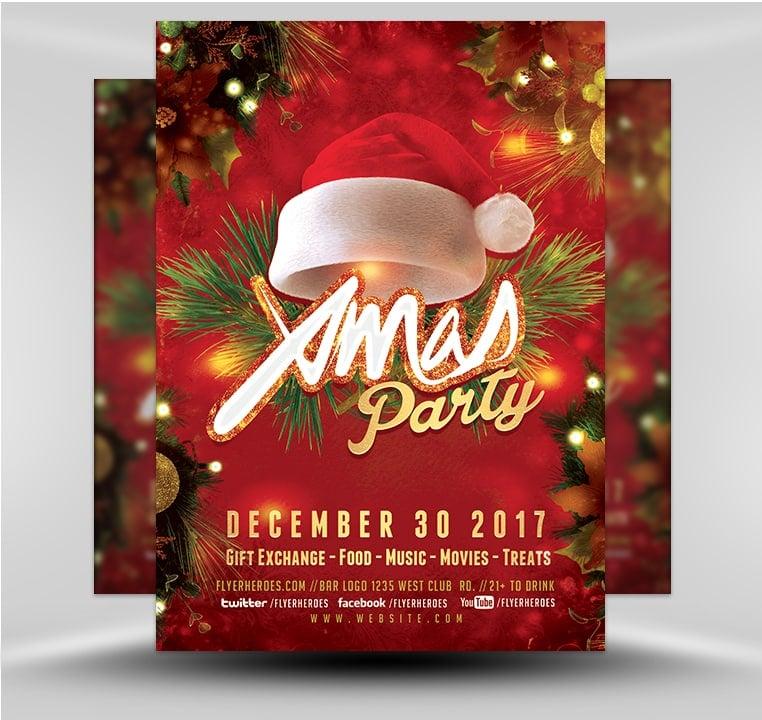 Christmas Flyers.Christmas Flyer 2018 V4 Flyerheroes
