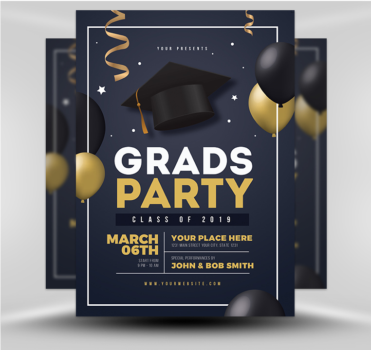 Graduation Party Template V4