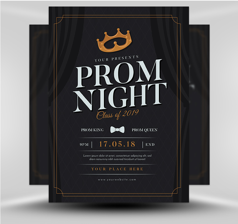 Prom Night Flyer Template V1