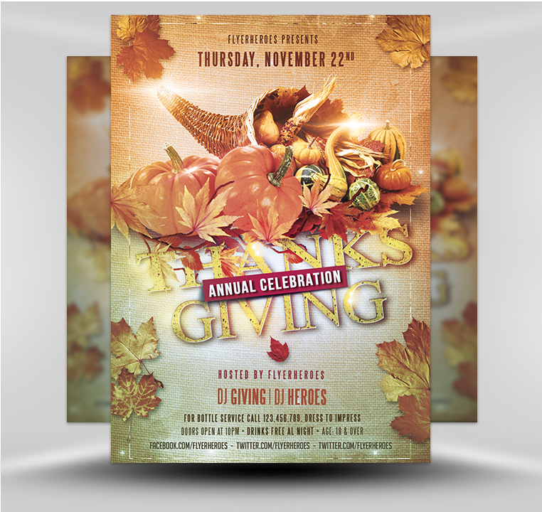 Thanksgiving 10 18 Flyerheroes