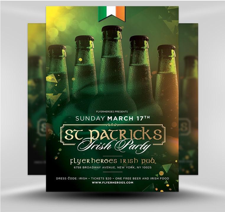 St. Patrick's Day Flyer 3.2019