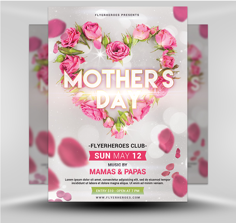 Mother's Day Flyer 5.19